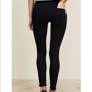 Frame Denim Jeans - FRAME le skinny de Jeanne ripped jeans